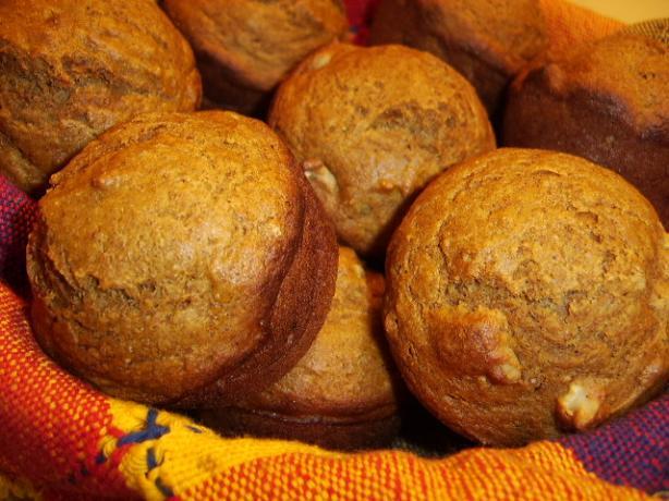 Pumpkin-Nut Muffins (Healthier!)