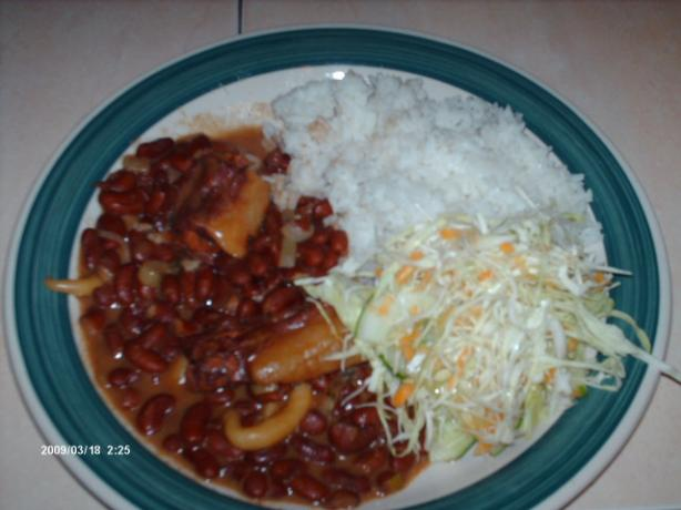 Stew Peas and Rice