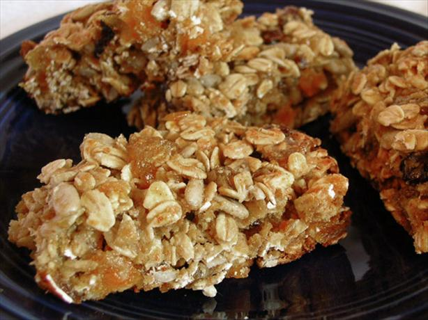 Fruity Granola Energy Bars