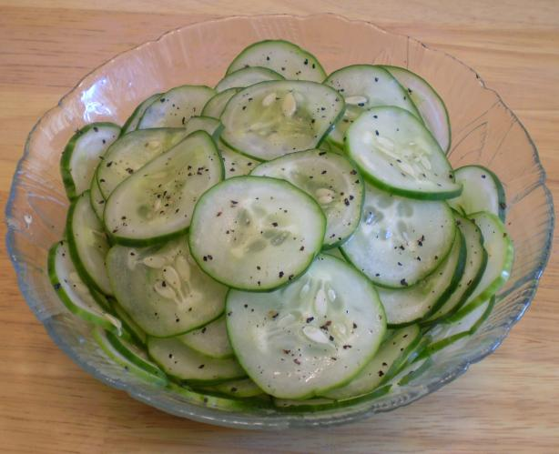 Pickled Cucumber Salad (Agurkesalat)