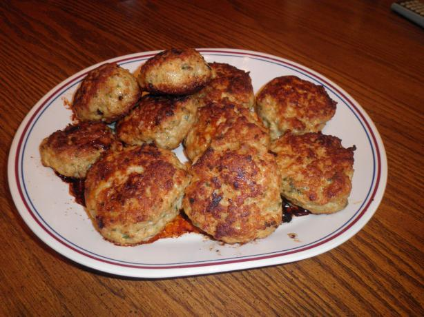 Chicken Vegetable Patties