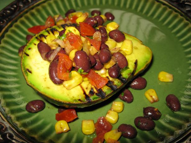 Southwest Grilled Avocados