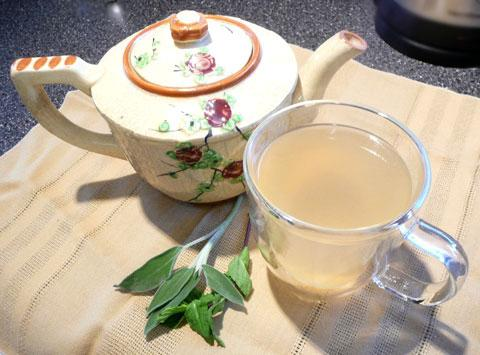 Sage & Mint Tea (For Sore Throats and More...)