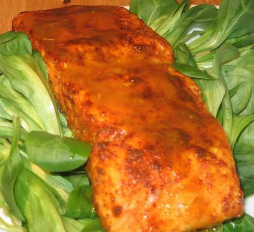 Pineapple Citrus Salmon