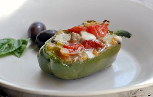 Stuffed Bell Peppers With Brie