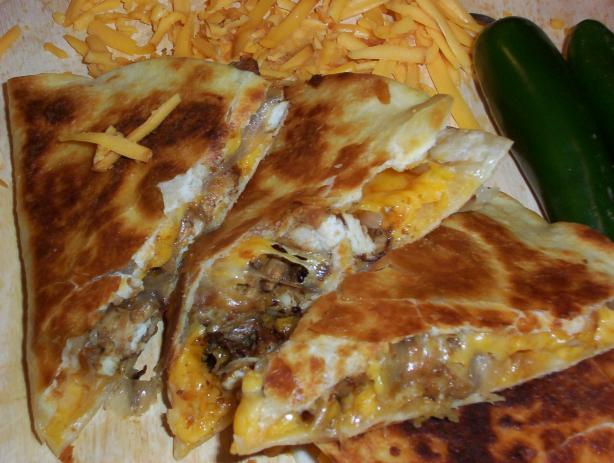 Smoked Cheddar Quesadillas