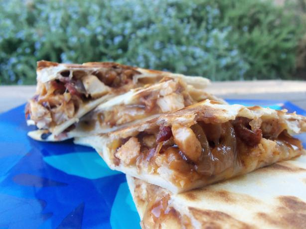 Yum...a Tasty Barbecue Chicken Quesadilla