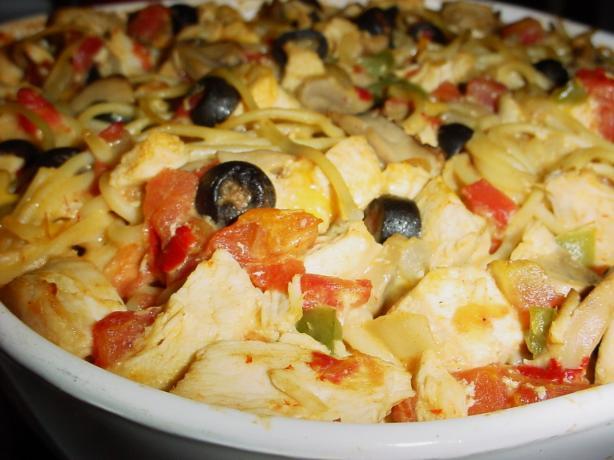 Chicken Fiesta Casserole