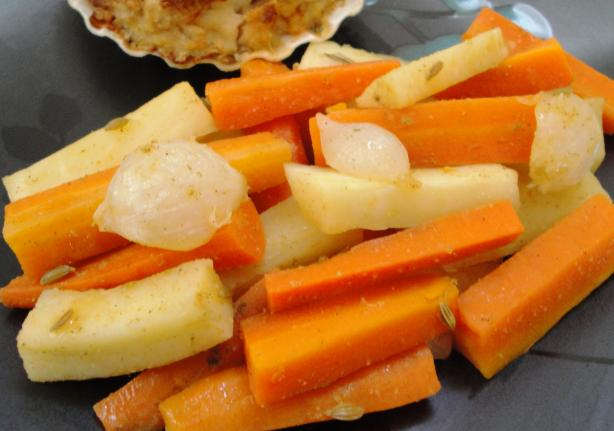 Glazed Pearl Onions & Carrots