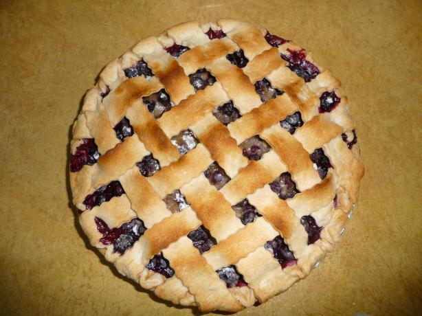 I Miss Bar Harbor Blueberry Pie
