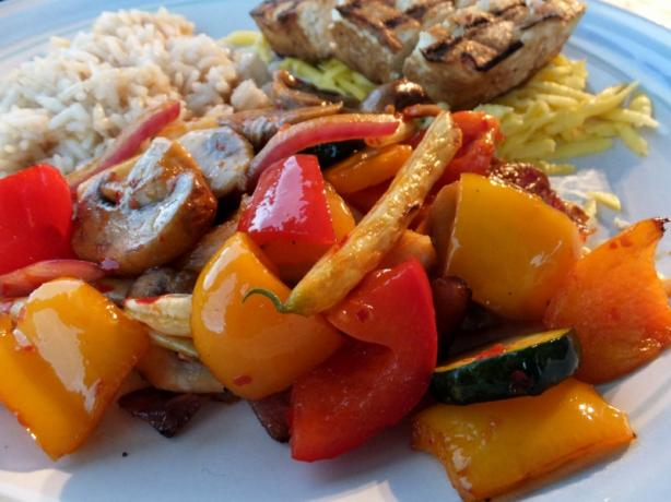 Grilled Veggies That Bite Back