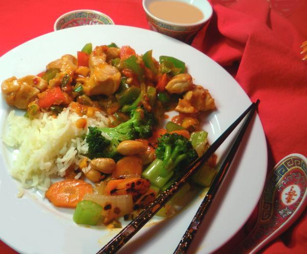 Sichuan Pepper Chicken