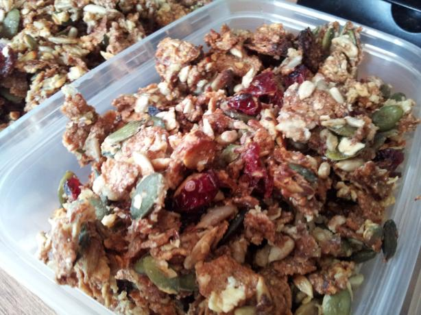 Nut Free Granola (With Seeds)
