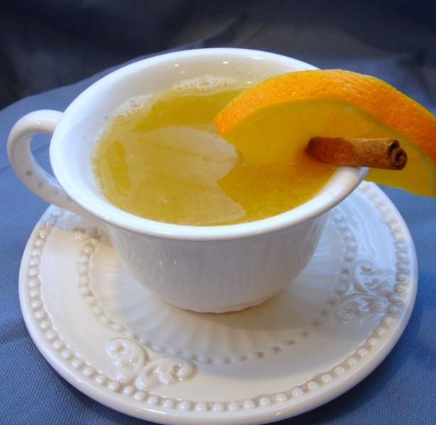 Hot Orange Almond Drink