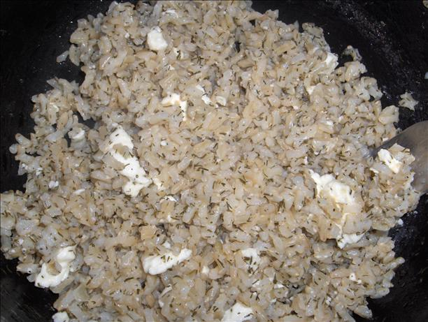 Rice With Feta (Low Fat)