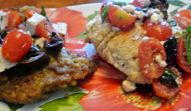 Greek Chicken Cutlets