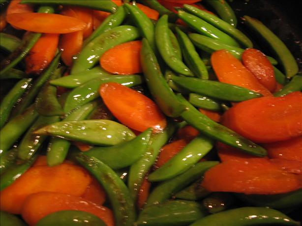 Sugar Snap Pea and Carrot Saute