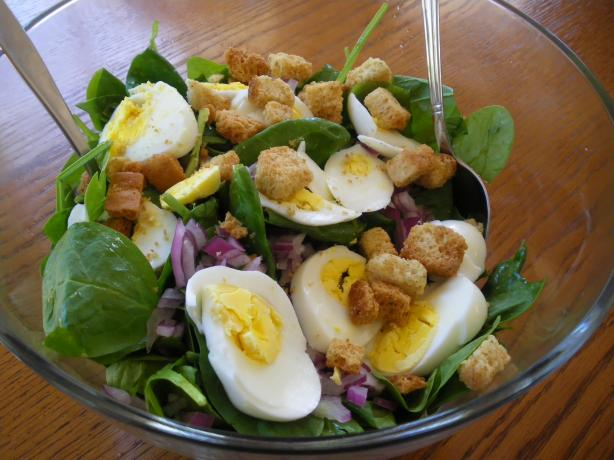 My Food Coach's Spinach Salad