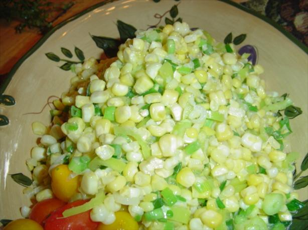 Sauteed Fresh Sweet Corn and Green Onions