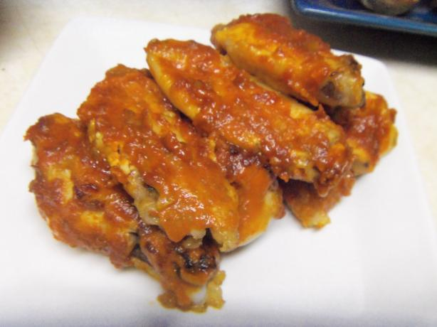 Chicken Wings With Jalapeno Pepper Sauce