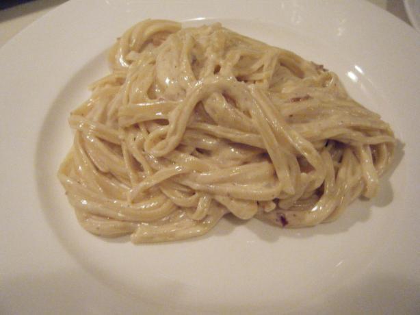 Cinnamon-Pancetta Carbonara by Giada De Laurentiis