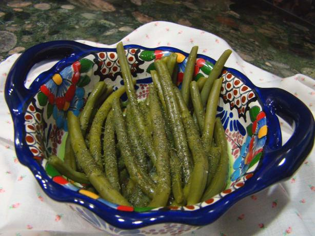 Grune Bohnen Mit Dill (Green Beans With Dill)