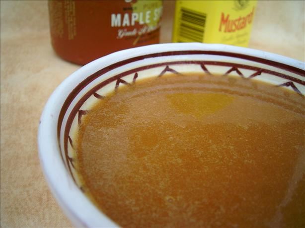 Sweet and Hot Maple Mustard