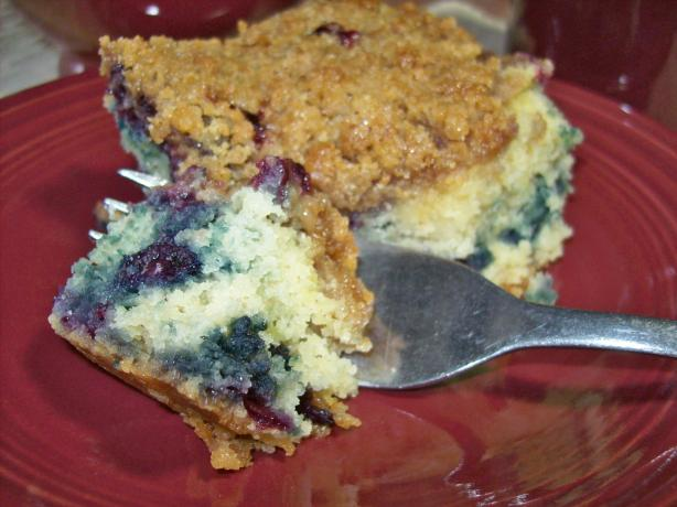 Blueberry Crumb Buckle