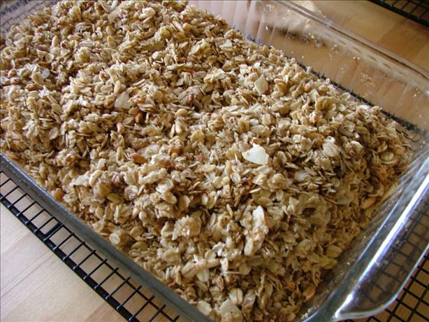 Ginger Almond Granola