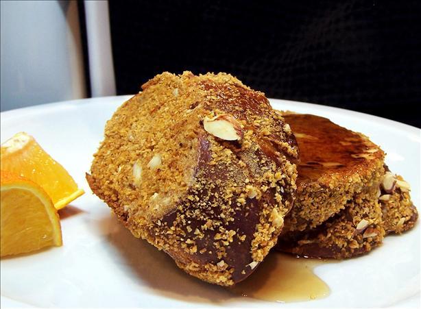 Crunchy Vanilla-almond French Toast