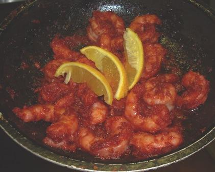 Chile-Fried Shrimp