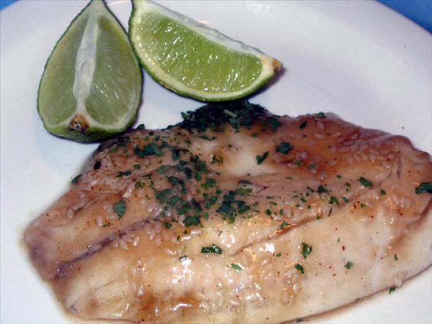 Catfish Fillets in Ginger Sauce