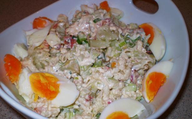 Cauliflower Salad Made Like Potato Salad (Low Carb)