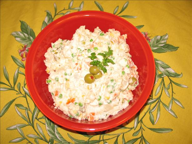 Brazilian Potato Salad Aka