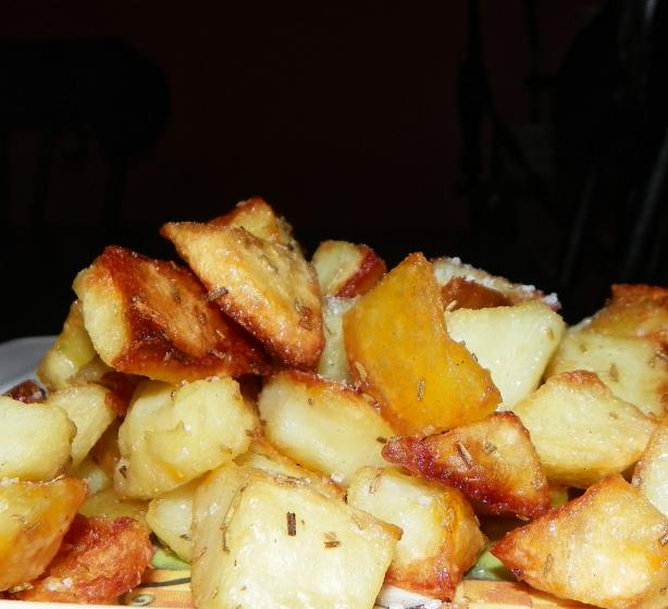 Crunchy Rosemary Potatoes
