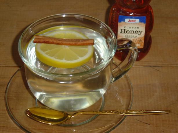 Hot Water With Lemon