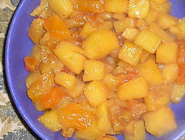Glazed Rutabaga & Apricots