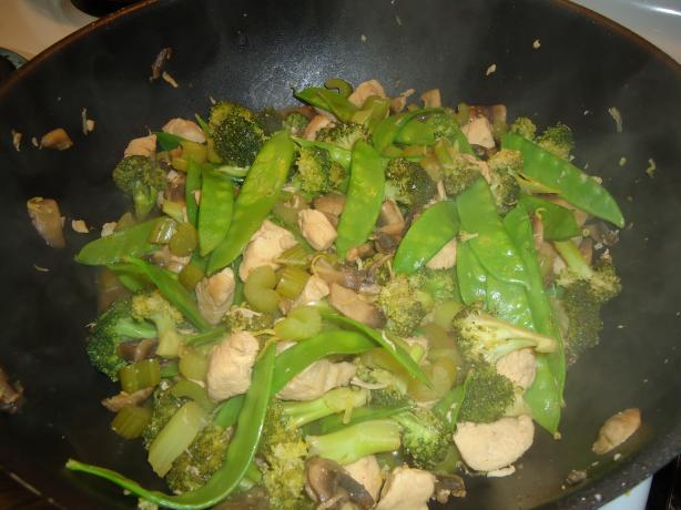 Chicken Walnut Saute (Stir Fry)