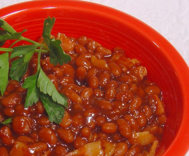 Quick BBQ Beans