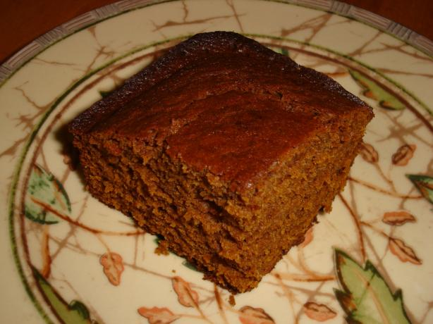 Gingerbread Made With Sour Cream