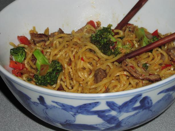 Yakisoba Noodles With a Kick (Vegetarian)