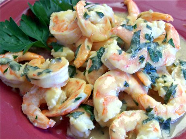 Easy Lemon-Dijon Shrimp Scampi