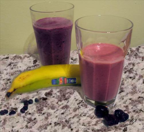 "Blueberry or Cherry/Banana ""best for You"" Smoothie"