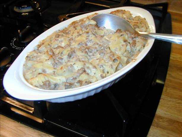 Lamb Pasta Casserole