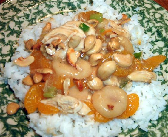 Diabetic Friendly Cashew Chicken