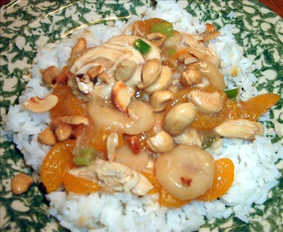 Diabetic Friendly Cashew Chicken