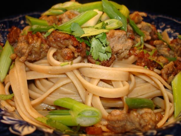 Hot And Spicy Szechuan Noodles (dan Dan Mian)