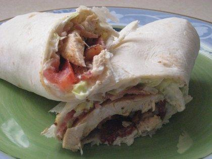Chicken BLT Wrapwich