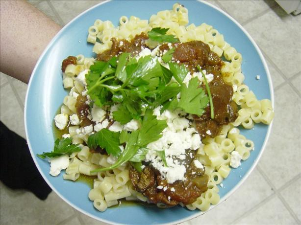 Beef and Eggplant Stew (Greek - Crock Pot Version)