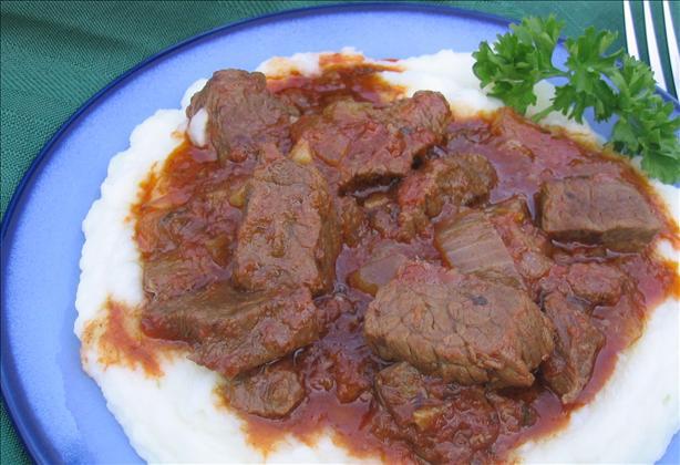 Tas Kebap (A Greek Beef or Lamb Stew)